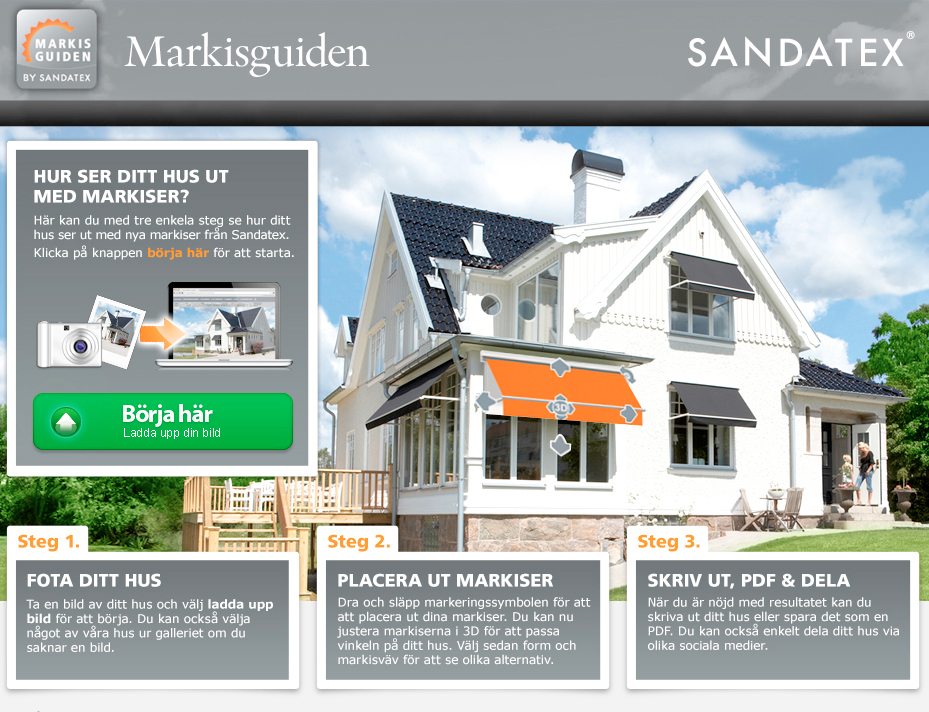 Sandatex Markisguide